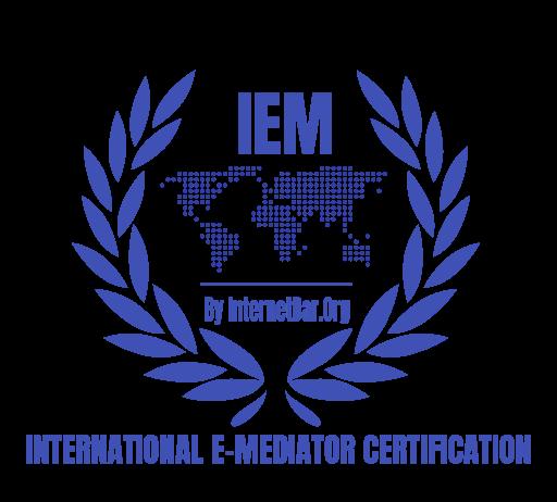 Instant Mediations Internet Bar Certificate Seal